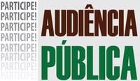 Audiência Pública  referente a questão do rezoneamento eleitoral, bem como verificada a concordância ou não de eventual extinção e/ou remanejamento desta zona eleitoral local.
