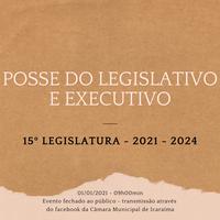 Sessão de Posse dos eleitos no dia 1º de Janeiro de 2021 será fechada ao público.