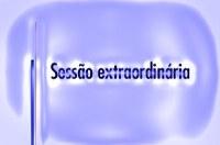 Sessão Extraordinária