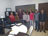 Vereadores Mirins se reúnem com o Prefeito Municipal